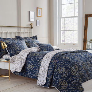 SINGLE DUVET COVER Antoinette Navy