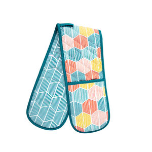 Griffen Teal Double Oven Glove