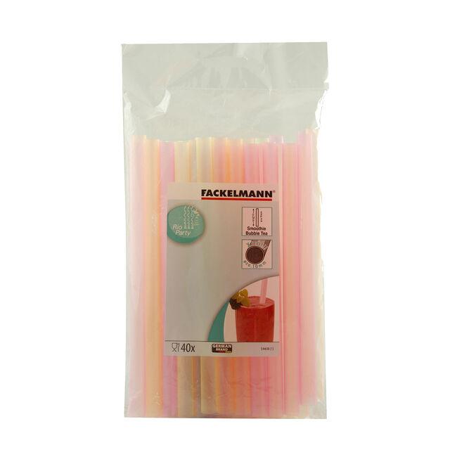 Smoothie Straws (20CM) 40 Pack