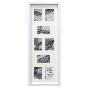 8 4x6 McIntosh White Photo Frame 31cm X 92cm