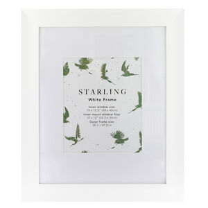 Starling White Frame 10 x 12