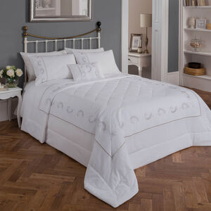 Scanlon Silver Bedspread 220cm x 230cm