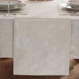 Glisten Silver Table Runner 229cm x 36cm