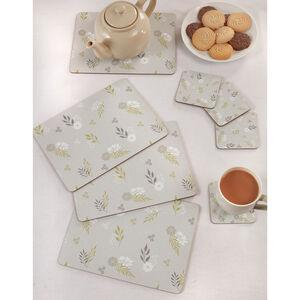 Botanic Love Mats & Coasters 4 Pack