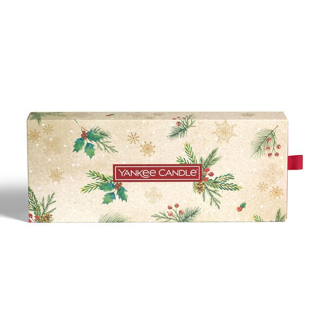 Yankee Christmas Tealights & Holder Gift Set