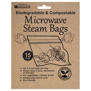 Eco-Friendly Microwave Steam Bags