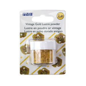 PME Lustre Powder 2g - Vintage Gold