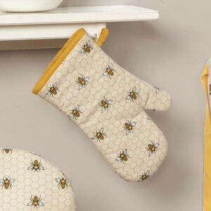 Honey Bees Single Oven Glove