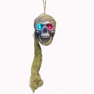 Hanging LED Pirate Skull