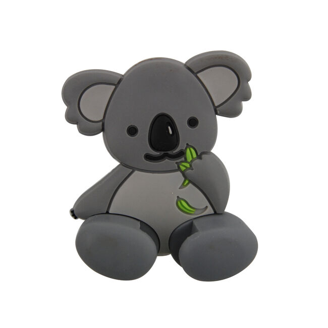 Grey Koala Toothbrush Holder