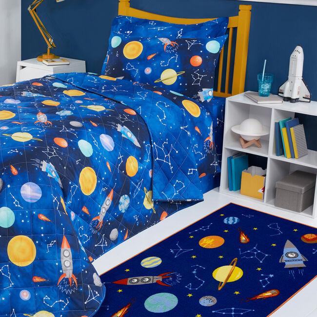 Space Odyssey Childrens Floormat 100x150cm