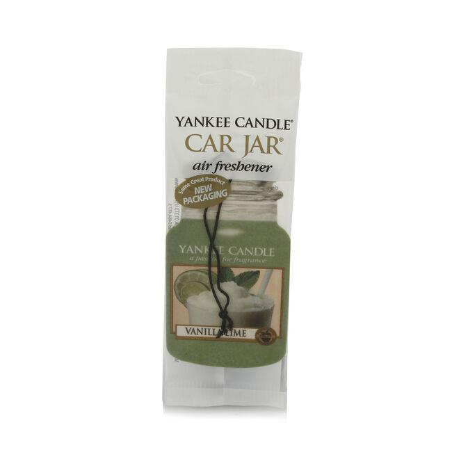 Yankee Candle Vanilla Lime Car Jar