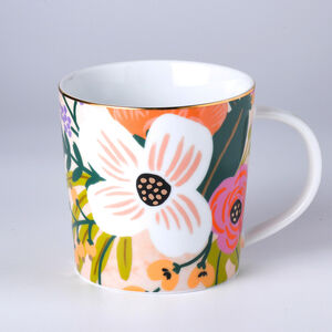Atelier 75 Tropical Pink Flower Mug
