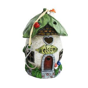 Tree Hanging Solar Fairy House