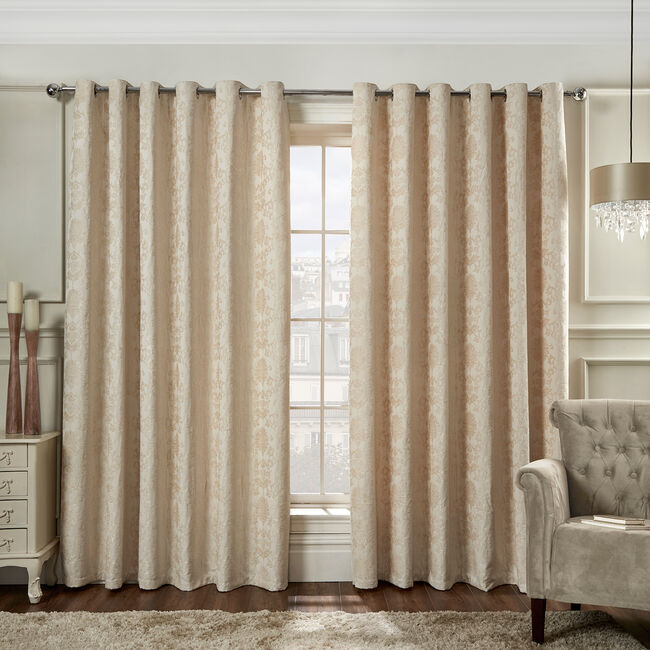 SHELBOURNE NATURAL 90x90 Curtain