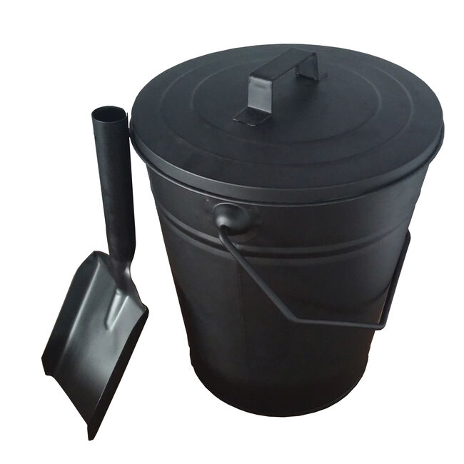 Silverflame Ash Bucket with Shovel