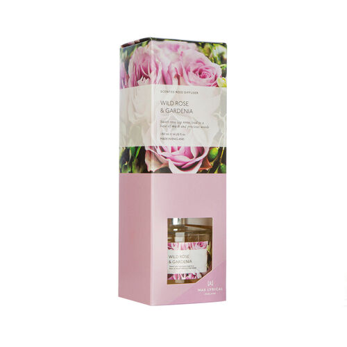 Modern Floral Wild Rose & Gardenia Reed Diffuser