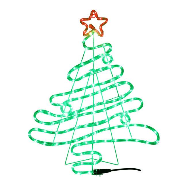 Christmas Tree Silhouette Rope Light