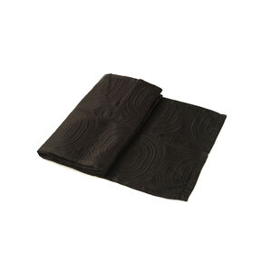 Satin Black Bed Runner