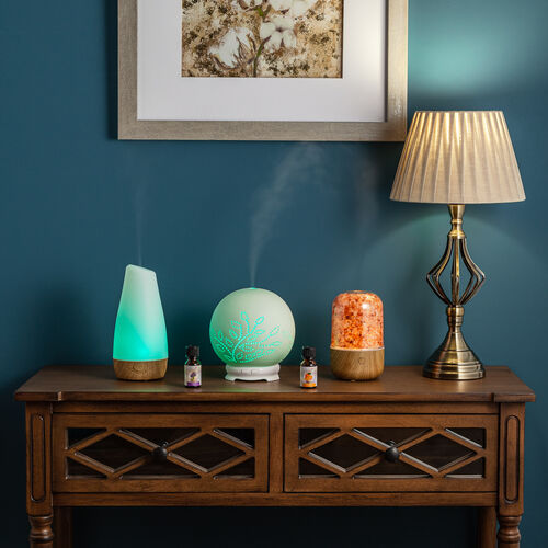 Aeromatic Ultrasonic Aroma Diffuser Wooden Effect
