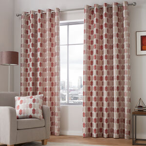 MARVEL RED 66X54 Curtain