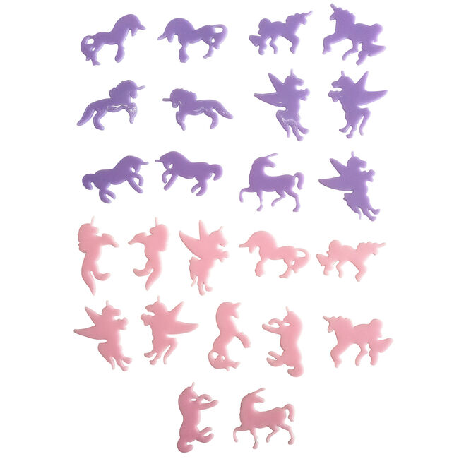Glow in the Dark Unicorn Stick-ons