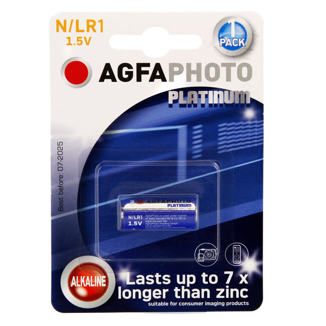 Agfa Photo Platinum N/LR1 1.5V Battery