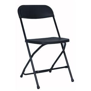 Easy Folder Black Chair