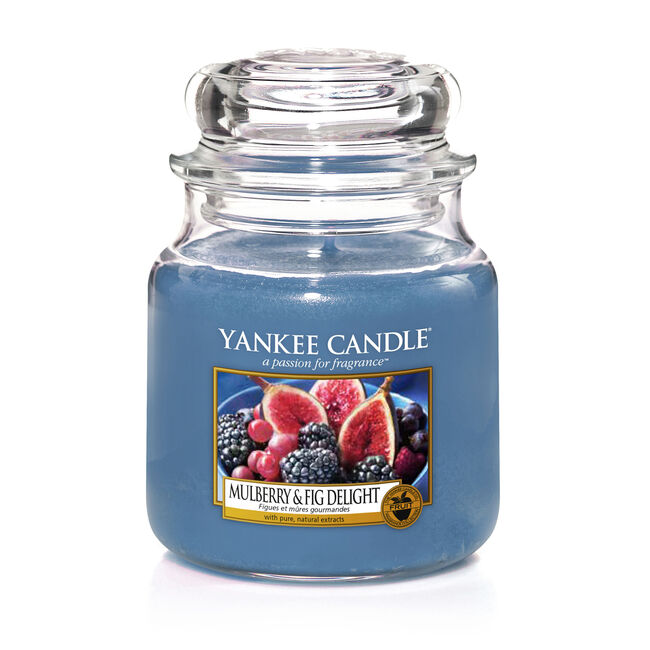 Yankee Candle Mulberry and Fig Medium Jar