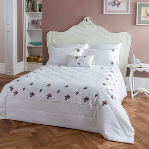 Mary Rose Berry Bedspread 220cm x 230cm