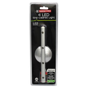 Gadgetpro 4 LED Strip Cabinet Light