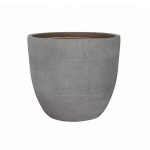 Medium Inca Fibre Clay Pot - Taupe