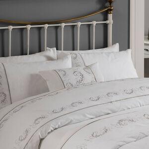 Scanlon Silver Cushion 30cm x 50cm
