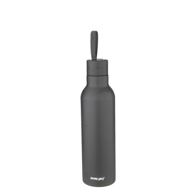Bodygo Black Vacuum Sport Bottle 750ml