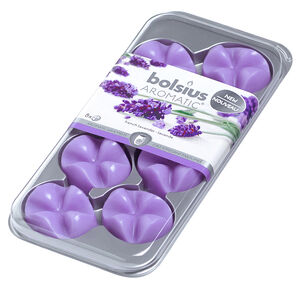 Bolsius Aromatic French Lavender 8 Wax Melts