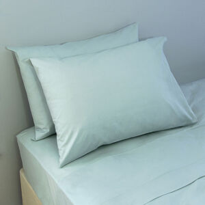 200 Threadcount Duck Egg Housewife Pillowcase