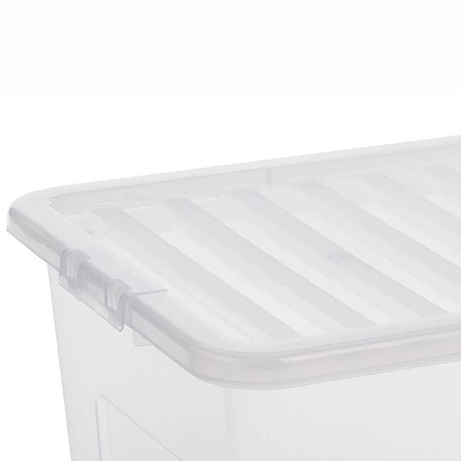 Crystal Box & Lid 80L  Clear