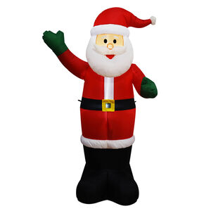 Inflatable Light up Santa - 1.6M