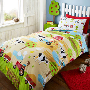 Farmyard Fun Duvet Cover