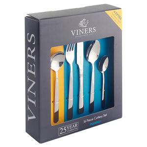 Viners Piccadilly 16 Piece Set + 8 Spoons