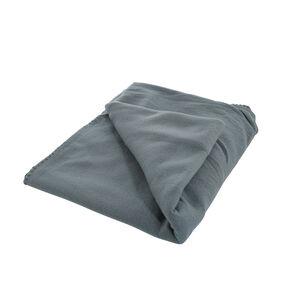 Plain Fleece Throw 130x160cm