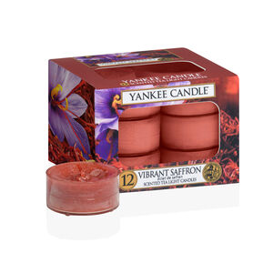 Yankee Candle Vibrant Saffron Tea Lights