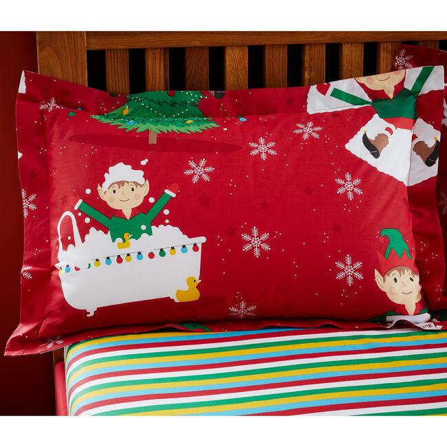Elf Tricks Oxford Pillowcase Pair