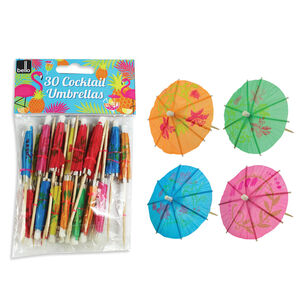 Cocktail Umbrellas 30 Pack