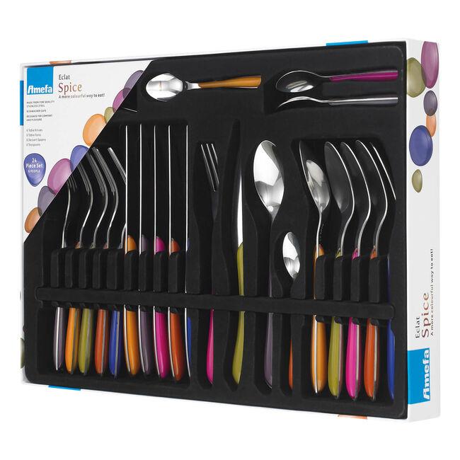 Amefa Eclat Spice Cutlery Set 24 Piece