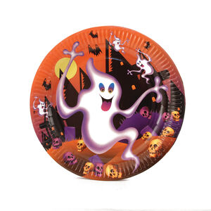 Ghostly Paper Plates 6 Pack