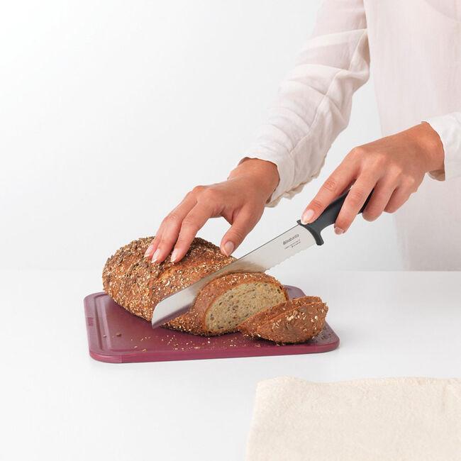 Brabantia Bread Knife - Dark Grey