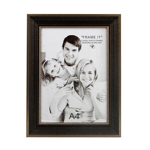 Antique Bronze Slim Photo Frame A4