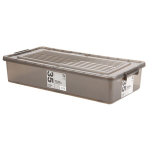Rolling Underbed Storage Container with Lid 35L