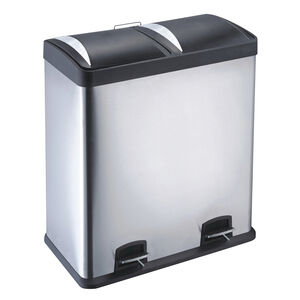 Double Recycling Bin 60L